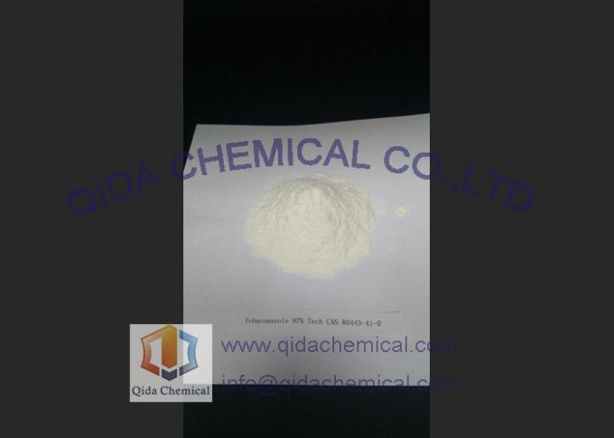 Triazole Chemical Fungicides , Seed Dressing Tebuconazole 97% Tech CAS 80443-41-0