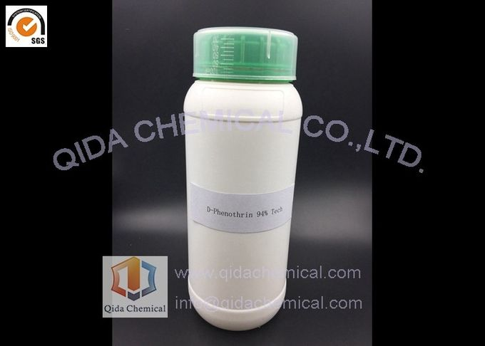 25kg Drum Natural Insecticide CAS 26046-85-5  D-Phenothrin 93% Tech